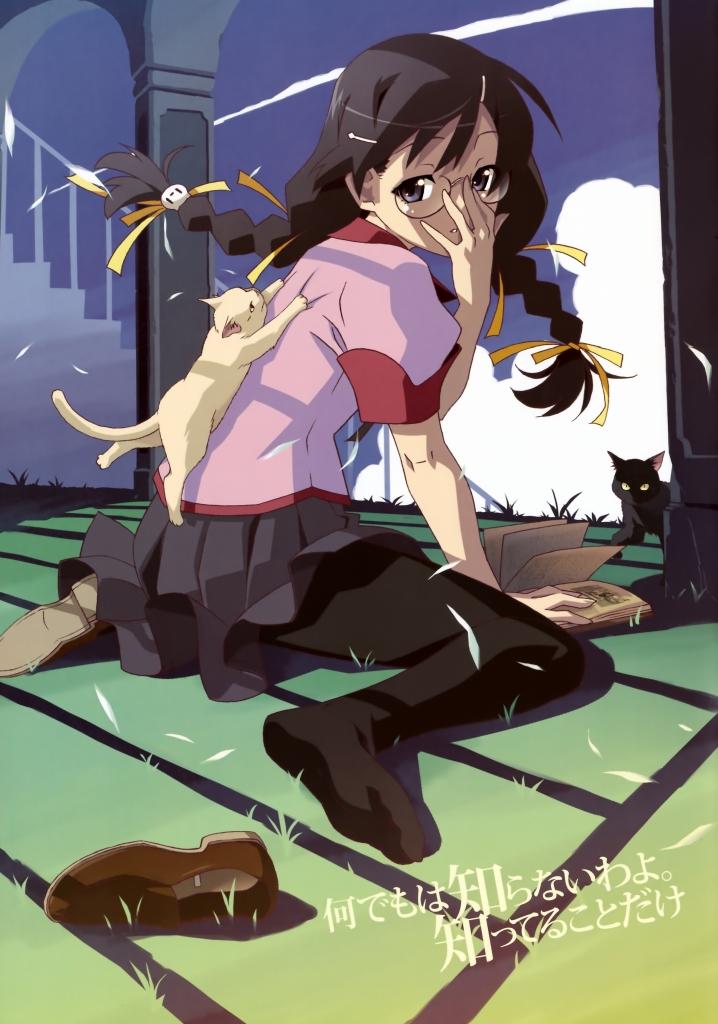 化物語猫と羽川翼