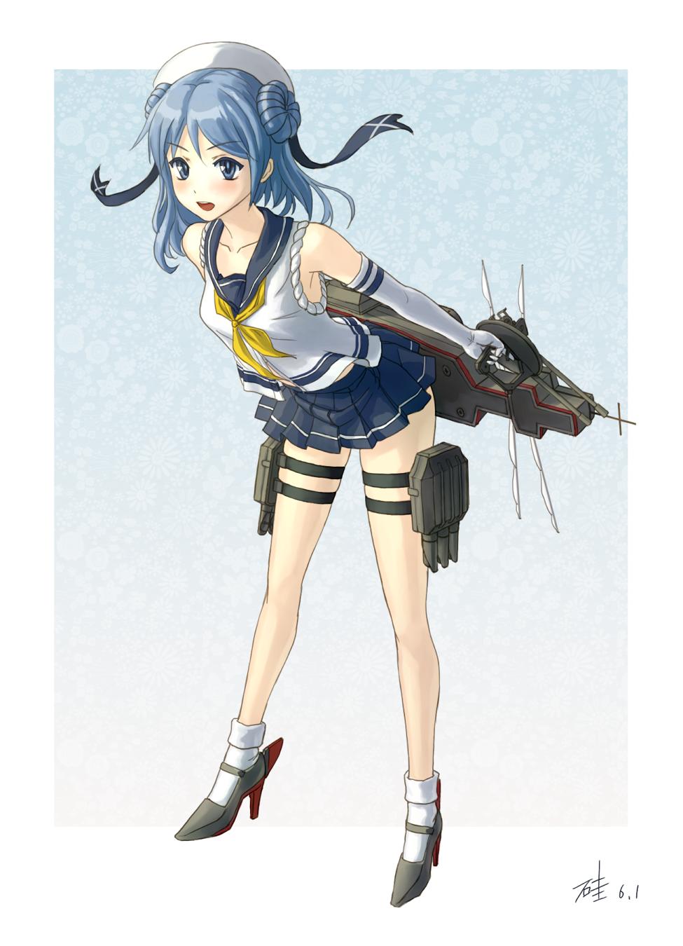 艦隊これくしょん -艦これ-【浦風】 壁紙 #36135