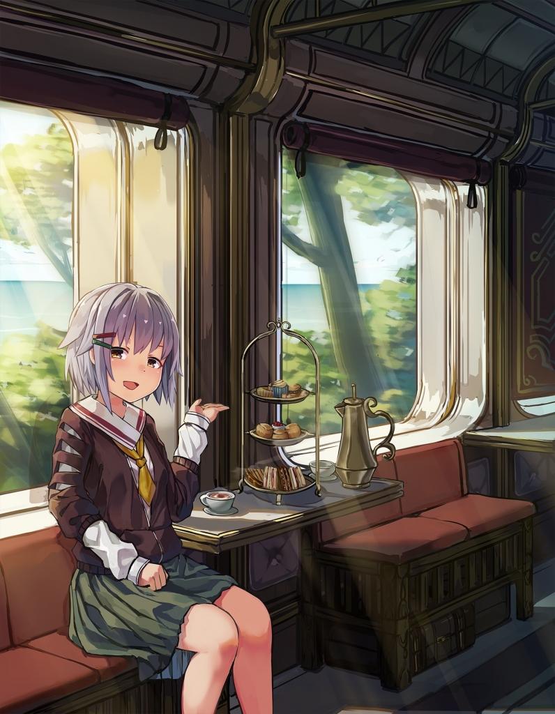 輿水幸子 電車