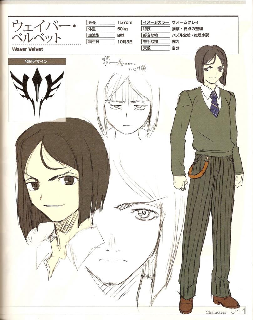 Fate Zero ウェイバー ベルベット 武内崇 壁紙 Tsundora Com