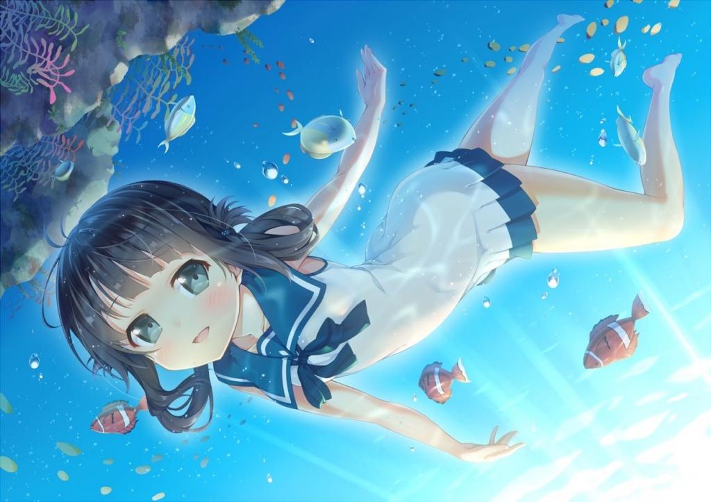 凪のあすから 潮留美海
