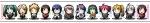 UTAU,ボーカロイド【亞北ネル,GUMI,初音ミク,鏡音レン,鏡音リン,KAITO,神威がくぽ,重音テト,巡音ルカ,MEIKO,弱音ハク】 #45958