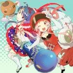 魔法少女大戦【青葉鳴子,神木鈴花,エビゾウ,タケスズメ】 #75377