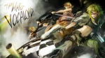 ボーカロイド,ブラック☆ロックシューター【ブラックロックシューター,GUMI,鏡音リン,鏡音レン】 #91346