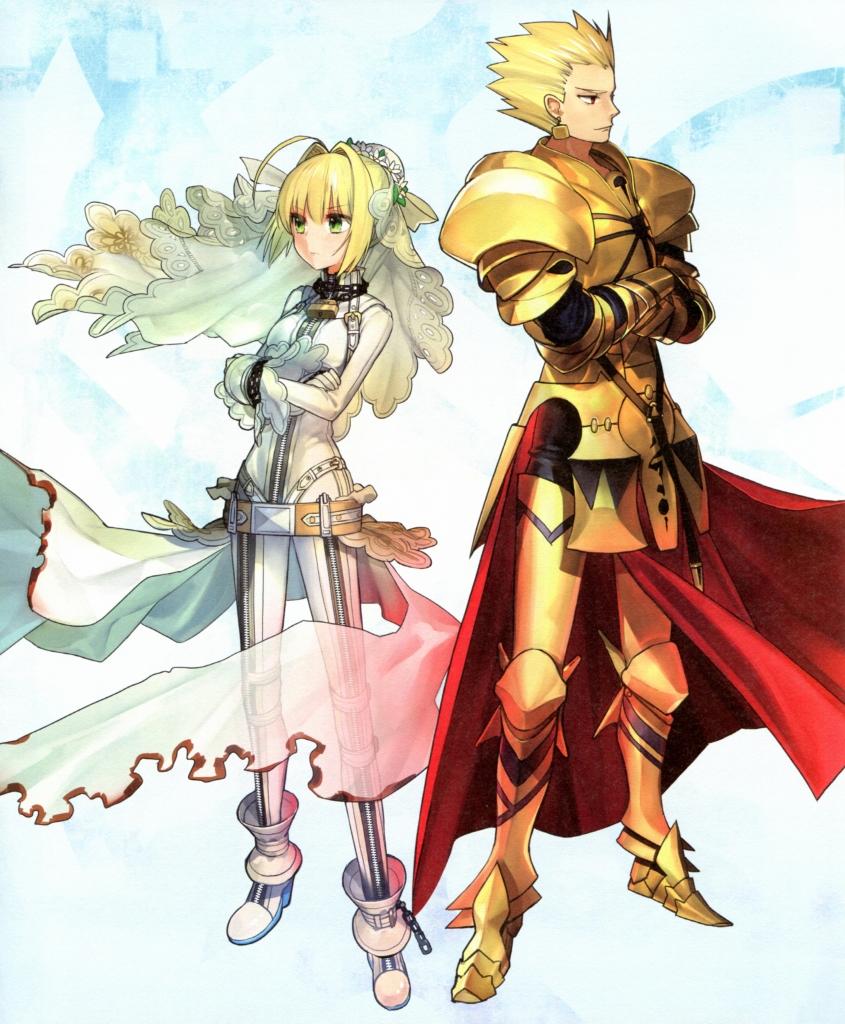 Fate Stay Night Fate Extra セイバー ブライド セイバー Fate Extra ギルガメッシュ 壁紙 Tsundora Com