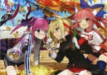 Fate/stay night,Fate/EXTRA【BB,キャスター(Fate/EXTRA),ランサー(Fate/EXTRA),メルトリリス,パッションリップ,セイバー・ブライド,セイバー(Fate/EXTRA)】 #102836