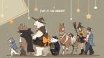 しろくまカフェ【パンダ,シロクマ,グリズリー,オオカミ,ラマ,笹子,半田,ペンギン】 #141539