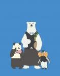 しろくまカフェ【パンダ,シロクマ,ペンギン】 #141541