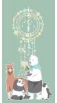 しろくまカフェ【パンダ,シロクマ,ペンギン,ラマ】 #141532