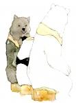 しろくまカフェ【パンダ,シロクマ,グリズリー】 #141533
