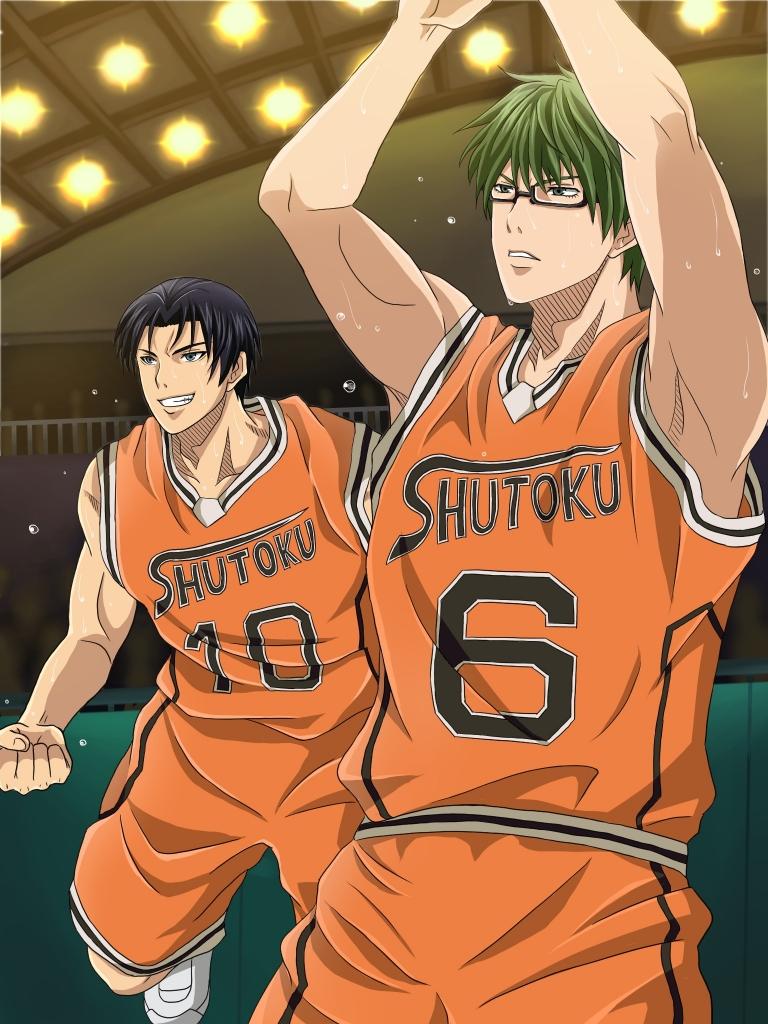 黒子のバスケ 緑間真太郎高尾和成 壁紙 Tsundora Com