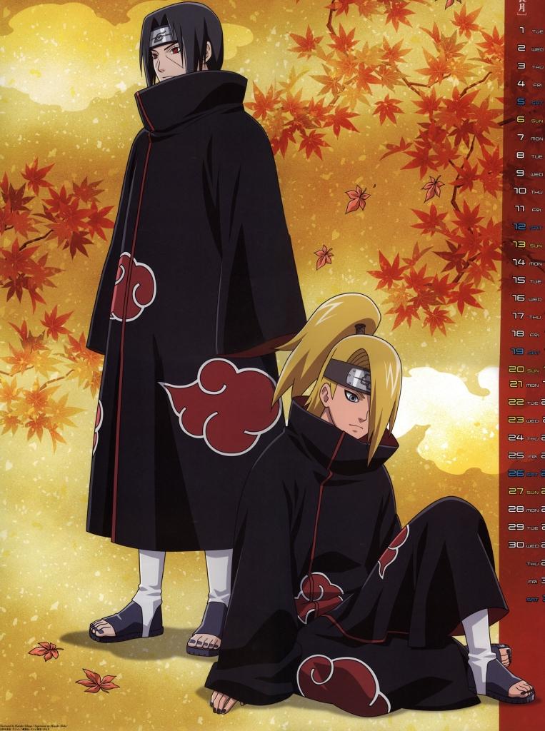 Naruto ナルト うちはイタチ デイダラ 壁紙 Tsundora Com