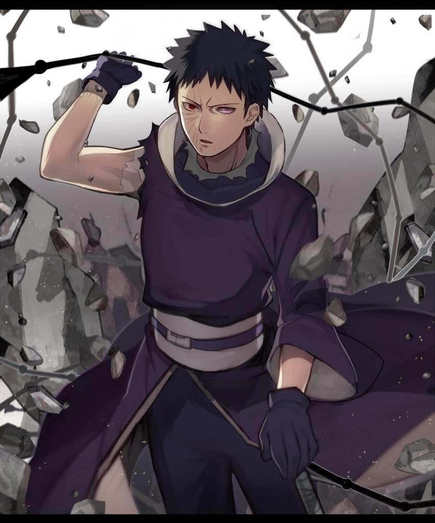 Naruto ナルト うちはオビト 壁紙 Tsundora Com