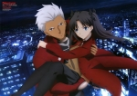 Fate/stay night,Fate/stay night Unlimited Blade Works【アーチャー,遠坂凛】 #158792