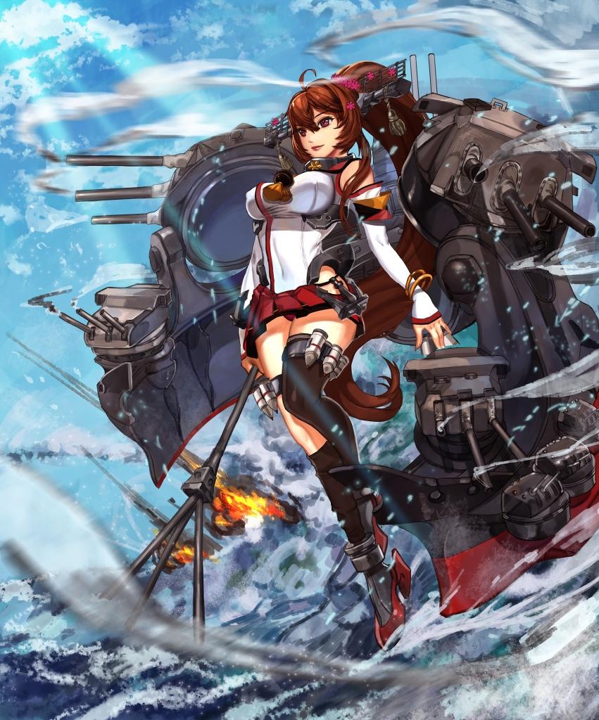艦隊これくしょん 艦これ 大和 壁紙 Tsundora Com