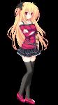 Lunaris Filia 〜キスと契約と真紅の瞳〜【シルヴィア=ルナ=インフィニタス】水鏡まみず #187664