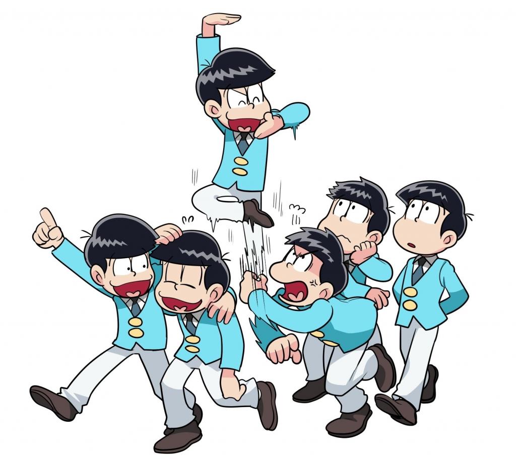 おそ松さん 松野おそ松 松野カラ松 松野チョロ松 松野一松 松野十四松