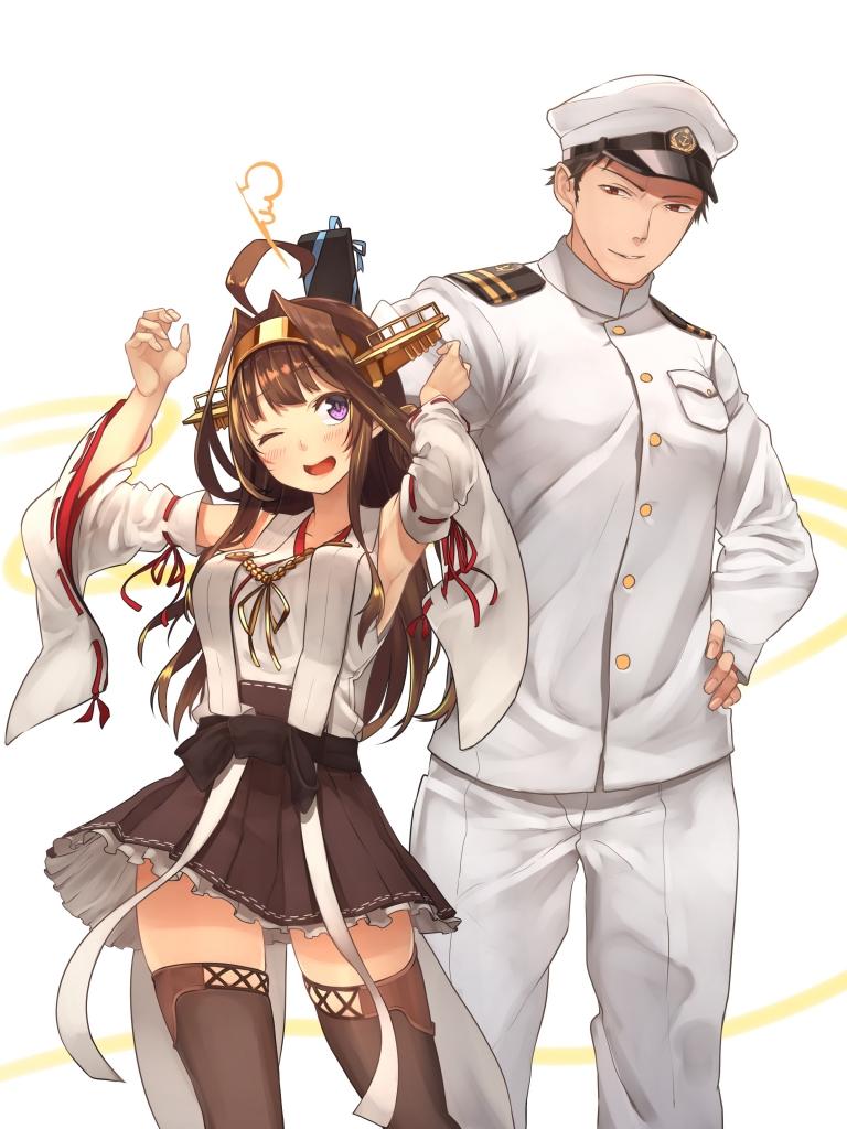 艦隊これくしょん 艦これ 金剛 提督 壁紙 Tsundora Com
