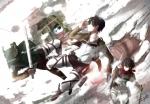 進撃の巨人【ミカサ・アッカーマン,エレン・イェーガー,アルミン・アルレルト,アニ・レオンハート】 #241773