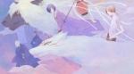 夏目友人帳【ヒノエ,ひとつ目の中級妖怪,リオウ,夏目貴志,斑,牛顔の中級妖怪】 #252587