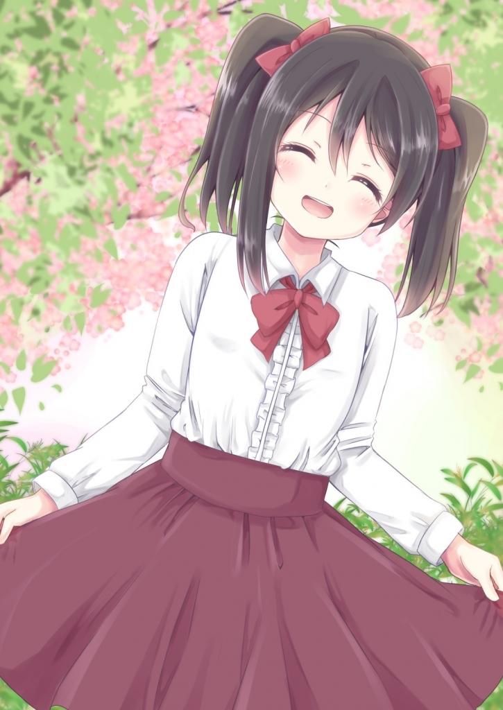 矢澤にこ 桜