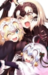 Fate/stay night,Fate/Grand Order【ジャンヌ・ダルク・オルタ・サンタ・リリィ,ジャンヌ・ダルク(Fate/Apocrypha),ルーラー(Fate/Apocrypha)】 #311293