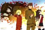 Fate/stay night,Fate/EXTRA Last Encore【岸波白野,レオナルド・ビスタリオ・ハーウェイ,遠坂凛】 #324988