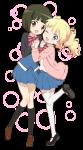 きんいろモザイク【アリス・カータレット,大宮忍】 #368595